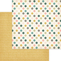 My Minds Eye - Wild Asparagus Collection - 12 x 12 Double Sided Paper - Dotty