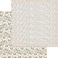 My Minds Eye - Wild Asparagus Collection - 12 x 12 Double Sided Paper - Mathilda