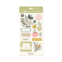 My Minds Eye - Wild Asparagus Collection - Chipboard Embellishments