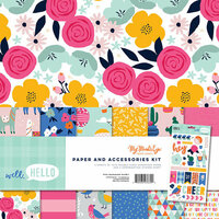 My Minds Eye - Well Hello Collection - 12 x 12 Collection Pack