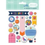 My Minds Eye - Well Hello Collection - Decorative Brads