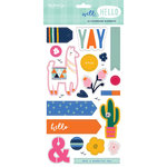 My Minds Eye - Well Hello Collection - Chipboard Stickers