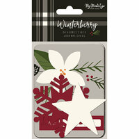 My Minds Eye - Winterberry Collection - Christmas - Journal Cards