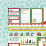 My Mind's Eye - Winter Wonderland Collection - Christmas - 12 x 12 Double Sided Paper - Tags