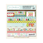 My Mind's Eye - Winter Wonderland Collection - Christmas - 6 x 6 Paper Pad