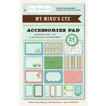 My Mind's Eye - Winter Wonderland Collection - Christmas - 4 x 6 Accessories Pad