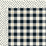 My Minds Eye - Yes, Please Collection - 12 x 12 Double Sided Paper with Foil Accents - Plaid Please