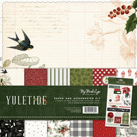 My Minds Eye - Christmas - Yuletide Collection - 12 x 12 Collection Pack