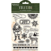 My Minds Eye - Christmas - Yuletide Collection - Unmounted Rubber Stamps