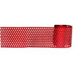 Magic Mesh - Dotty Ann Adhesive Mesh - Holiday Red
