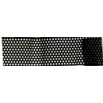 Magic Mesh - Dotty Ann Adhesive Mesh - Raven