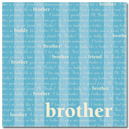Masterpiece Studios - Stemma - 12x12 Paper - Oh Brother