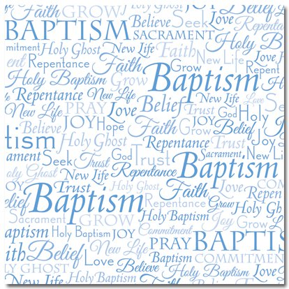 baptism research paper A research paper on the life and ministry of balthasar hubmaier a paper  baptism other than believers' baptism was contrary to the word of god.