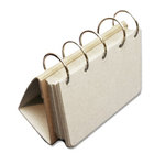 Maya Road - Clear Acrylic Calendar Stand with Chipboard Pages