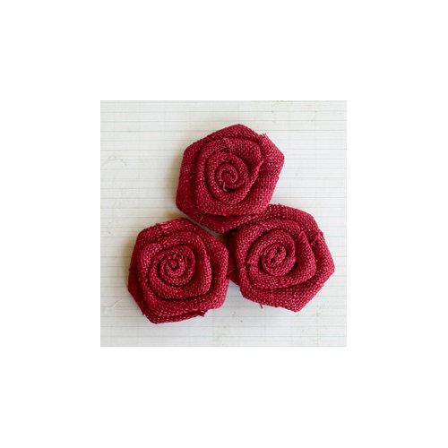Maya Road - Vintage Burlap Roses - Barn