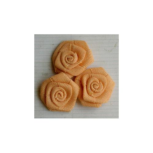 Maya Road - Vintage Burlap Roses - Lemon