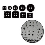 Maya Road - Chipboard Collection - Chipboard Mini Set - Buttons