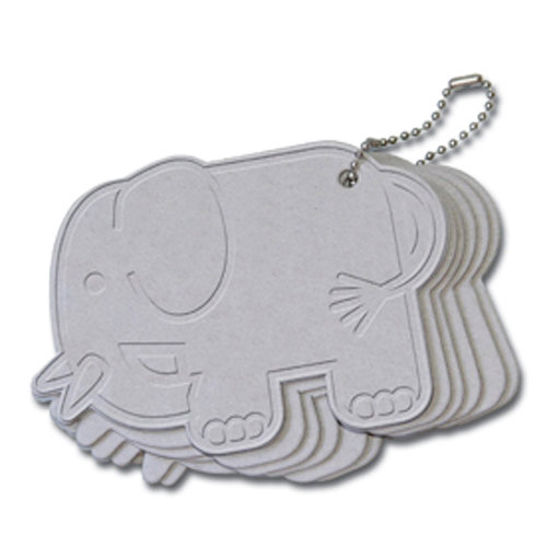 Maya Road - Chipboard Collection - Chipboard Keychain Set - Elephant Coaster
