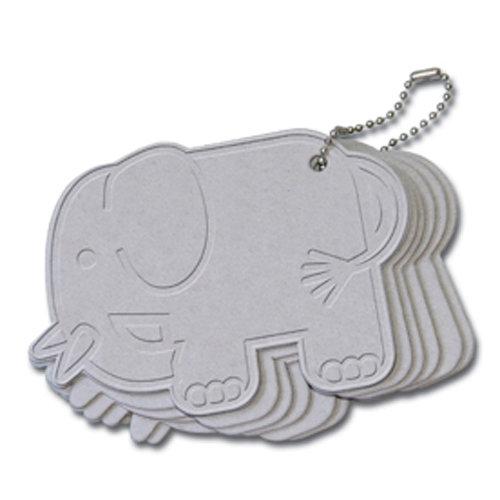Maya Road - Chipboard Collection - Chipboard Keychain Set - Elephant Coaster