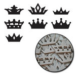 Maya Road - Chipboard Collection - Chipboard Mini Set - Crowns