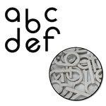 Maya Road - Chipboard Collection - Chipboard Mini Set - William Alphabet