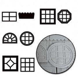 Maya Road - Chipboard Collection - Chipboard Set - Windows