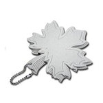 Maya Road - Chipboard Collection - Chipboard Keychain Set - Leaf Coaster