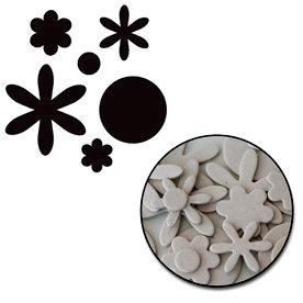 Maya Road - Chipboard Collection - Chipboard Mini Set - Mixed Blossom