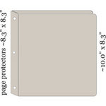 Maya Road - Chipboard Collection - 8 x 8 Binder with 10 Page Protectors