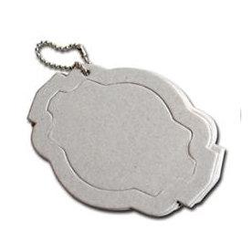 Maya Road - Chipboard Collection - Chipboard Keychain Set - Ornate Tag Coaster