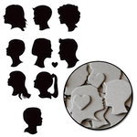 Maya Road - Chipboard Collection - Chipboard Mini Set - Portrait, CLEARANCE