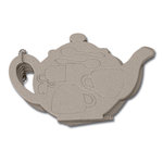 Maya Road - Chipboard Collection - Chipboard Book - Tea Pot, CLEARANCE