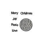 Maya Road - Chipboard Set - Christmas Words