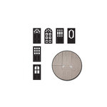 Maya Road - Chipboard Set - Doorways