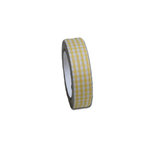 Maya Road - Fabric Tape - Gingham - Sun Yellow