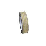 Maya Road - Fabric Tape - Gingham - Sun Yellow