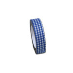 Maya Road - Fabric Tape - Gingham - Ocean Blue