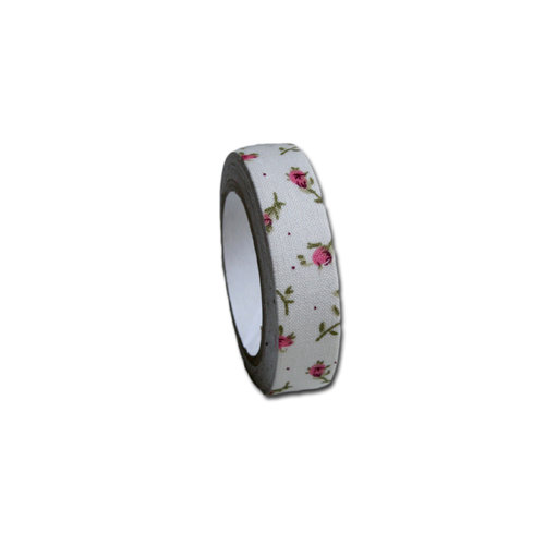 Maya Road - Fabric Tape - Flower - Country Rose