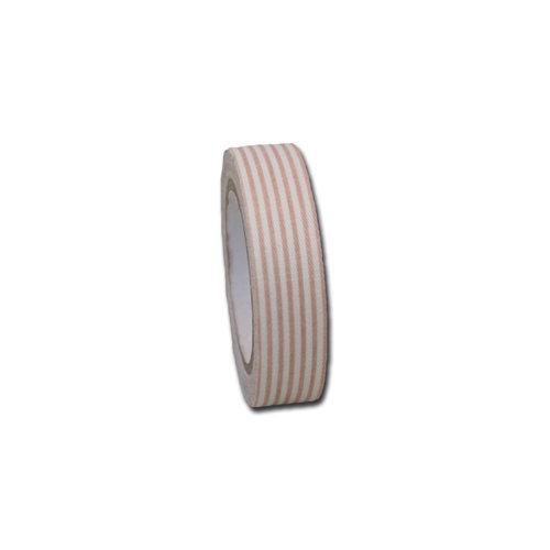 Maya Road - Fabric Tape - Stripes - Khaki Beige