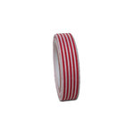 Maya Road - Fabric Tape - Stripes - Fire Red