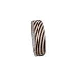 Maya Road - Fabric Tape - Stripes - Mocha Brown