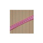 Maya Road - Trim - Mini Gingham - Pink Bubblegum - 25 Yards