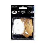 Maya Road - Kraft Collection - Mini Tags, CLEARANCE