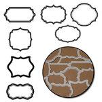 Maya Road - Kraft Tags - Mini - Jotter - White