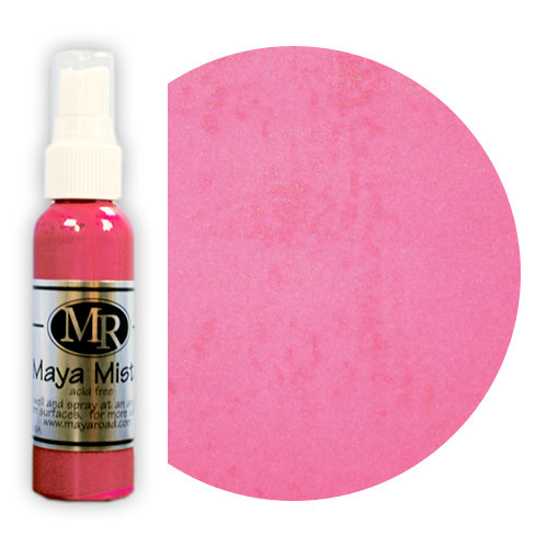 Maya Road - Maya Mists Spray - 2 Ounce Bottle - Carnation Pink Mist
