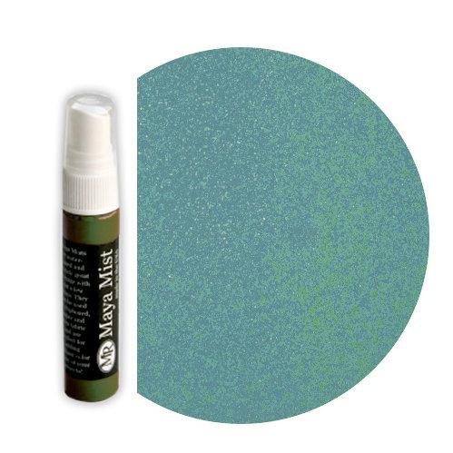 Maya Road - Maya Mists Spray - 1 Ounce Bottle - Turquoise Metallic Mist