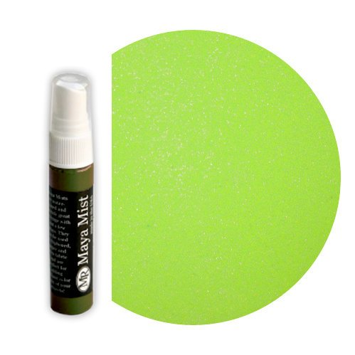 Maya Road - Maya Mists Spray - 1 Ounce Bottle - Lime Metallic Mist