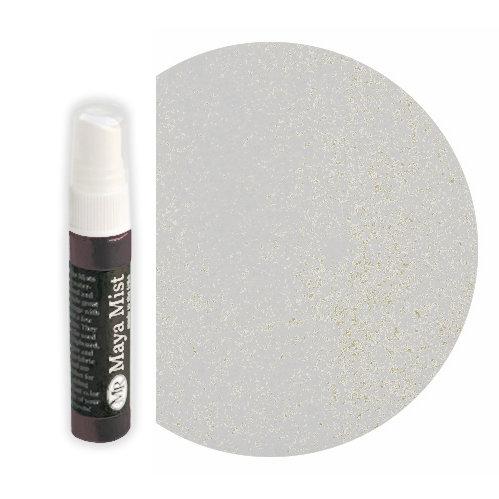 Maya Road - Maya Mists Spray - 1 Ounce Bottle - Snow White Metallic Mist