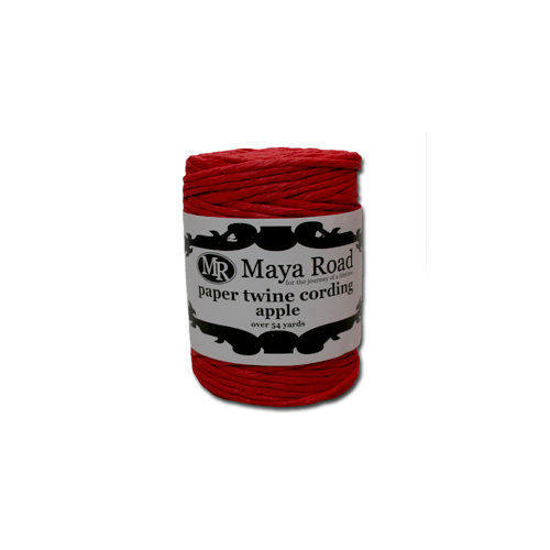 Maya Road - Paper Twine Cording - Apple
