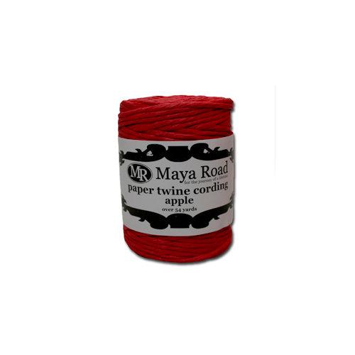 Maya Road - Paper Twine Cording - Apple